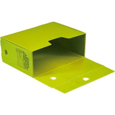 Arquivo morto novaonda 250x130x350mm amarelo Polibrás PT 5 UN