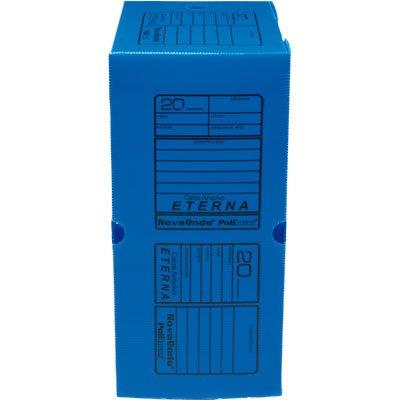 Arquivo morto novaonda 290x175x380mm azul Polibrás PT 1 UN
