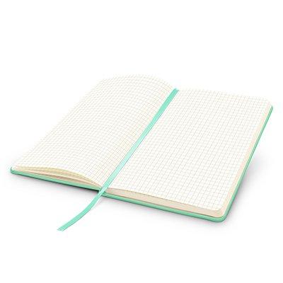Caderno anotações 13x21cm quadriculado 80 fls vd pastel Spiral PT 1 UN