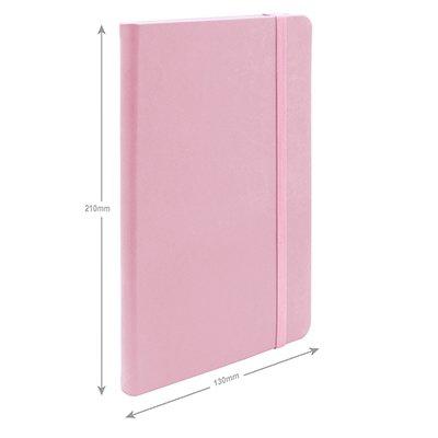 Caderno anotações 13x21cm com pauta 80 fls lilás pastel Spiral PT 1 UN