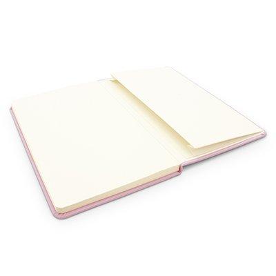 Caderno anotações 13x21cm sem pauta 80 fls lilás pastel Spiral PT 1 UN