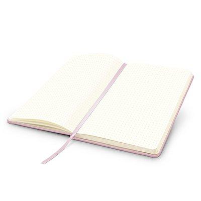Caderno anotações 13x21cm pontilhado 80 fls lilás pastel Spiral PT 1 UN