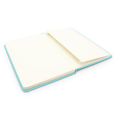 Caderno anotações 13x21cm com pauta 80 fls azul pastel Spiral PT 1 UN