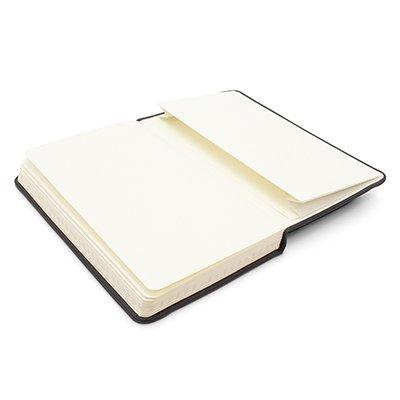 Caderno anotações 15x9cm quadriculado 80 fls preto Spiral PT 1 UN