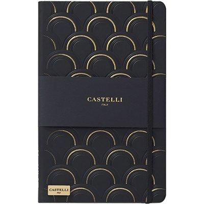Caderno de anotações 120fl 13x21cm c/pauta Castelli sort Pombo PT 1 UN PT 1 UN