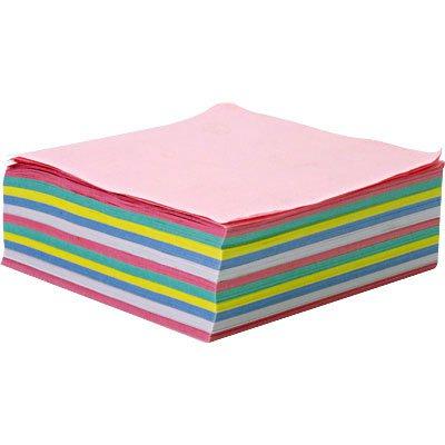 Bloco cubo lembrete 85x85 50gr coloridos Spiral PT 700 FL