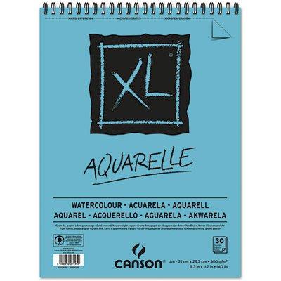 Bloco XL espiral aquarelle A4 300g Canson BL 30 FL