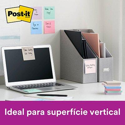 Bloco Post-it 76x76 Coleção anos 2010 c/ 270fls 3M PT 1 UN