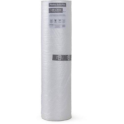 Plástico bolha (40 micras) plus 100cmx25m 100806 Atco BB 1 UN