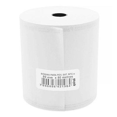Bobina térmica para ECF 80mmx80m amarela 21984 Spiral PT 1 UN