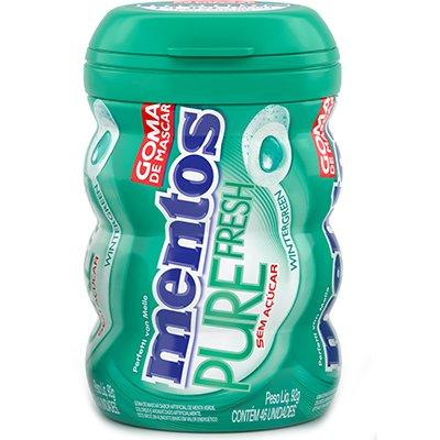 Mentos goma pure fresh Wintergreen garrafa 92gr 1640576 Mentos PT 1 UN