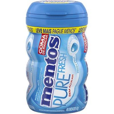 Mentos goma pure fresh Mint garrafa 92gr 1640575 Mentos PT 1 UN