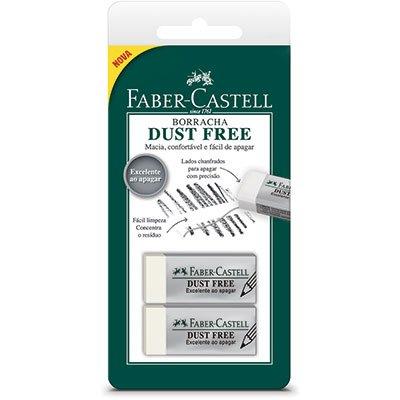 Borracha técnica Dust Free SM/187137 Faber Castell BT 2 UN