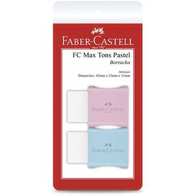 Borracha c/ cinta Max pastel pequena SM/7024MAR Faber Castell PT 2 UN