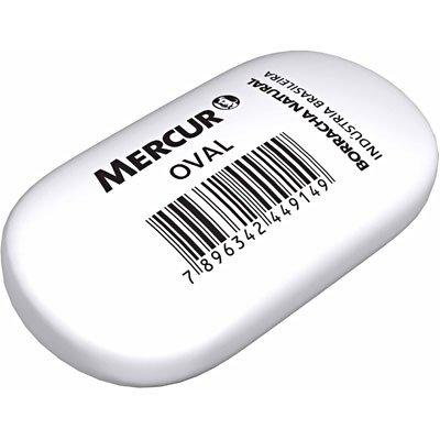 Borracha branca oval B01010301035 Mercur BT 2 UN