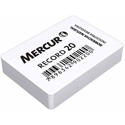 Borracha branca escolar Record 20 B01010301009 Mercur BT 2 UN