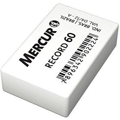Borracha branca escolar Record 60 B0101006-01 Mercur CX 60 UN