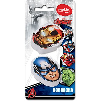 Borracha fantasia Avengers sortido 22260 Molin BT 2 UN