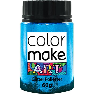 Glitter azul claro 60g Colormake 7120 Yur PT 1 UN