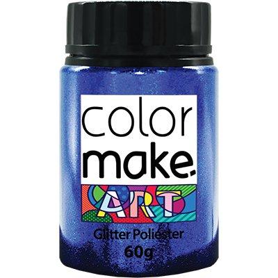 Glitter azul escuro 60g Colormake 7121 Yur PT 1 UN
