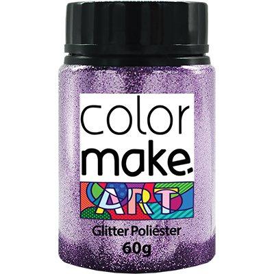 Glitter lilás 60g Colormake 7124 Yur PT 1 UN