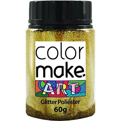Glitter ouro 60g Colormake 7125 Yur PT 1 UN