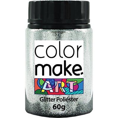 Glitter prata 60g Colormake 7129 Yur PT 1 UN