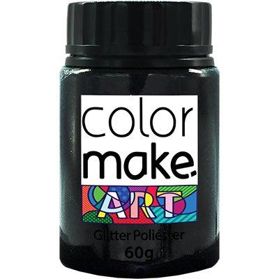 Glitter preto 60g Colormake 7131 Yur PT 1 UN