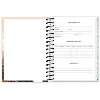 Caderneta 1/8 capa dura 96fls Imagem&Mensagem 20896 Spiral Ima PT 1 UN
