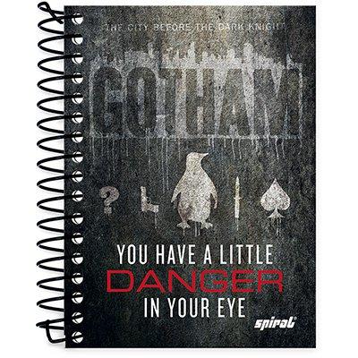 Caderneta 1/8 capa dura 200fls Gotham 20914 Spiral Gth PT 1 UN