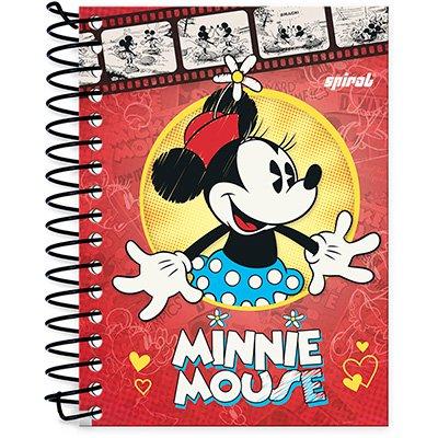 Caderneta 1/8 capa dura 200fls Minnie 20981 Spiral Dm PT 1 UN