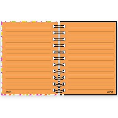Caderneta 1/8 capa dura 80 folhas - Lumi - Colors - 211089 PT 1 UN