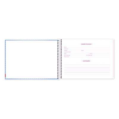 Caderno cartografia 96fls capa dura Pop Pet 20954 Spiral Pop PT 1 UN