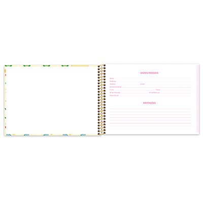 Caderno cartografia 96fls capa dura Corujinhas 20941 Spiral Cor PT 1 UN