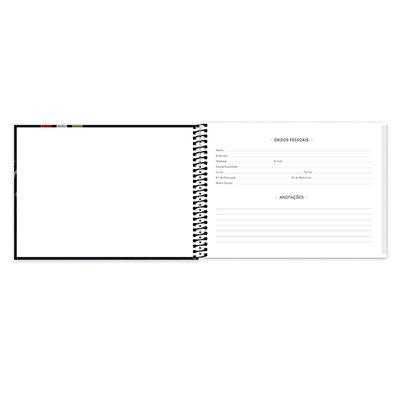 Caderno cartografia 96fls capa dura Lamborghini 20948 Spiral Lb PT 1 UN
