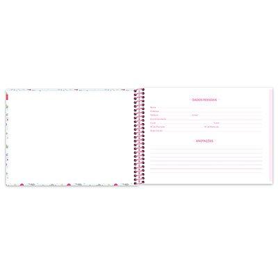 Caderno cartografia 96fls capa dura Fantasy 20944 Spiral Fan PT 1 UN