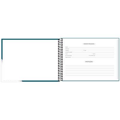 Caderno cartografia capa dura 48 folhas, Milimetrado, 79163, Spiral - PT 1 UN