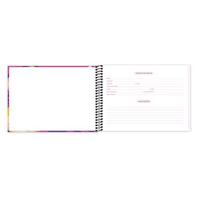 Caderno cartografia capa dura 48fl TsumTsum 20934 Spiral Tsum PT 1 UN