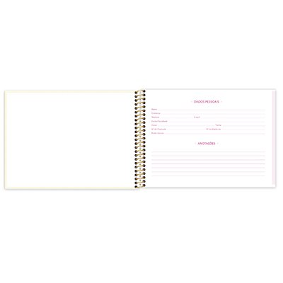 Caderno cartografia capa dura 80fls Corujinhas 212919 Spiral Cor PT 1 UN