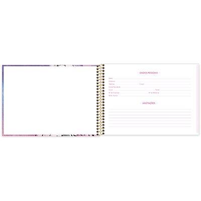 Caderno cartografia capa dura 80fls Barbie 212915 Spiral Brb PT 1 UN