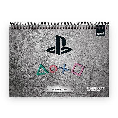 Caderno cartografia esp.superior 80fls Playst 213058 Spiral Ps PT 1 UN
