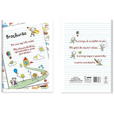 Caderno brochurão 96fls . 81883 Spiral PT 1 UN