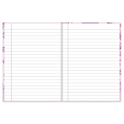 Caderno 1/4 capa dura costurado 96fls Femmina 20847 Spiral Fem PT 1 UN