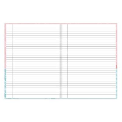 Caderno universitário capa dura brochura costurado 80 folhas Tendency Flamingo 212259 Spiral PT 1 UN