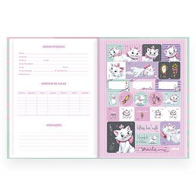 Caderno universitário capa dura brochura costurado 80 folhas Marie 212239 Spiral PT 1 UN