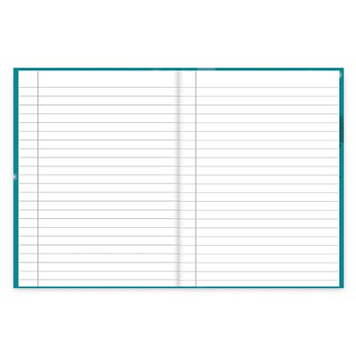 Caderno 1/4 capa dura costurado 48fls Abomináv. 20988 Spiral Abo PT 1 UN