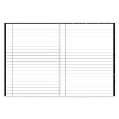 Caderno 1/4 capa dura costurado 48fls Marvel Em 20990 Spiral Mve PT 1 UN