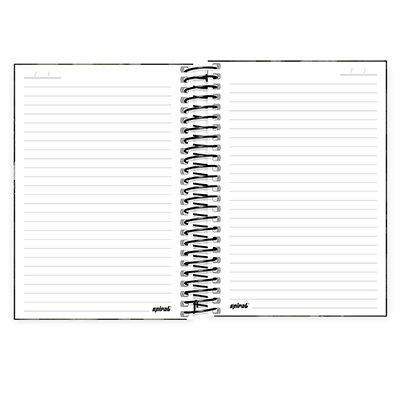 Caderno 1/4 espiral capa dura 96fls Nerf 20995 Spiral Nrf PT 1 UN