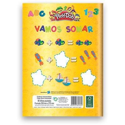 Caderno Universitário Capa Dura Costurado 96fl Play Doh 02694 Play Doh PT 1 UN