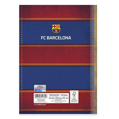 Caderno univ. capa dura costurado 96fl Barcelona 20715 Spiral Bc PT 1 UN